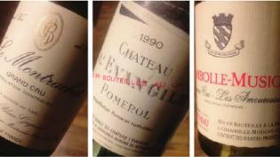 Noen Bordeauxvertikaler med notater